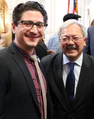 Mission Housing Development Corporation | Mayor Ed Lee, Sam Moss